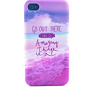 Create a Dream Pattern PC Material Phone Case for iPhone 4/4S