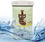 motif hibou écran tactile imperméable transparent pour iphone 7 6s 6 plus