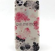 bloemen patroon TPU materiaal zacht telefoon Case voor iPhone 5c