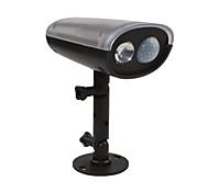 Solar-LED-Strahler montion Sensor aktiviert Sicherheitsmauer Flut Pfad Gartenlampe LED-Licht wasserdicht