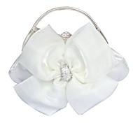 Handbag Silk Evening Handbags/Clutches With Crystal/ Rhinestone/Lace