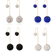 HUALUO®Ball Diamond Pendant Earrings