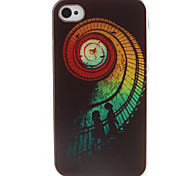 Ladder  Pattern TPU Phone Case for iPhone 4/4S