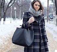 Handbag Leather Shoulder Bags With Feather/Fur
