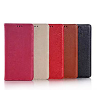 5.2 Inch Lichee Pattern Luxury Genuine Leather Wallet Case for Huawe P8 (Assorted Colors)