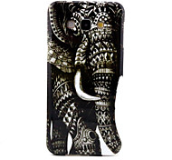 Elephant Pattern TPU Soft Case for Galaxy A8