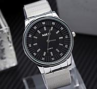 relógio simples legal dos homens relógios negócio correia ocasional relógio da liga