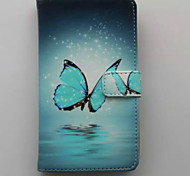 Butterfly Wallet Mobile Phone Case for Samsung S4 Mini I9190
