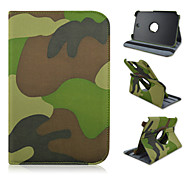 8 Inch Camouflage Color Pattern High Quality 360 Degree Rotation PU Leathe Case for Samsung Galaxy Note 8.0 N5100