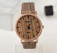 Fashion Waterproof Case European Style Vintage Unisex Watches Wood Watch Men And Women Watch