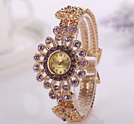New Arrive Fashion Imitation Diamond Setting Watch Electronic Style Women Dress Watches Lady's Wrist Watches Hot