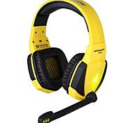 G4000 alta fedeltà audio surround gamer gioco headset ha condotto la luce con il microfono