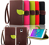 Wallet Card Holder PU Leather Flip Case Cover for Samsung Galaxy Note 4/Note 3/Note 2/Note Edge (Assorted Colors)
