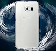 hyperfijne ultradunne transparante zacht TPU Case voor Samsung Galaxy s6