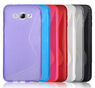 Angibabe S Style TPU Jelly Clear Case For Samsung Galaxy A8