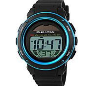 SKMEI® Men's Solar Power Digital Sports Watch Alarm Calendar Stopwatch Cool Watch Unique Watch