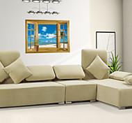 3d стены стикеры стены наклейки наклейки стиль окна ПВХ стены