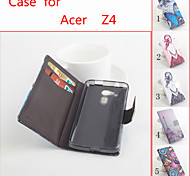 Flip Leather Magnetic Protective Case For Acer Z4(Assorted Colors)