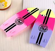 Sommerhit den Farbverlauf fashion Surfbrett Silikonhülle für iPhone 5/5 s (verschiedene Farben)