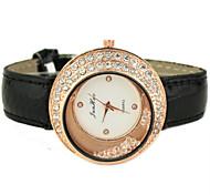 Frauen-Kreisrollkugeln Quarz-Armbanduhr
