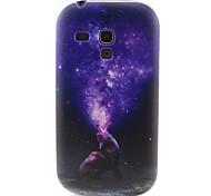 modello lupo materiale TPU soft phone per mini i8190 galassia S3