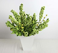 "12.6"" Artificial Plant for Decoration Greed Mini Fruit Made of Foam 1 Bunch"