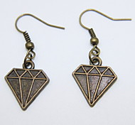 Fashion Women Alloy Earring Crystal Style Drop Earrings Daily/Casual