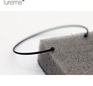 Lureme® Europestyle Brief Very Fine Circle Copper Cuff Bracelet