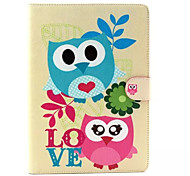 Cute owl  Pattern Hard Case for  iPad Air2/ iPad6
