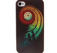 Stairs Pattern TPU Material Soft Phone Case for iPhone 4/4S
