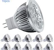 Faretti LED 5 LED ad alta intesità MORSEN MR16 GU5.3(MR16) 5W 350-400 LM Bianco caldo / Luce fredda 10 pezzi DC 12 V
