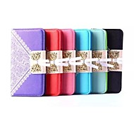 Lace the new Wallet Mobile phone Sets of pu Cases for Samsung Galaxy S6(Assorted Color)