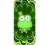 The Frog Pattern Phone Back Case Cover for iPhone5C
