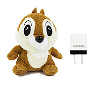 Disney Dale Plush Cotton Doll Power Bank External Battery For Iphone ,Samsung And Any USB Device