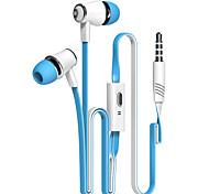 alta qualidade headphone jack fones de ouvido fones de ouvido com microfone 3,5 milímetros para iphone 6 lg samsung Xiaomi