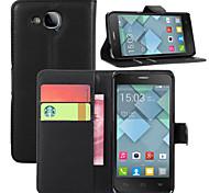 litchi stallo intorno aperto fondina telefono adatto per Alcatel One Touch idolo s 6034y ot6034r ((colori assortiti)