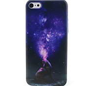 Night Sky  Pattern TPU Phone Case for iPhone 5C