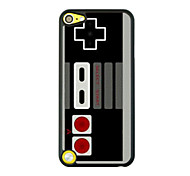 Retro Game Machine Leather Vein Pattern Hard Case for iPod touch 5