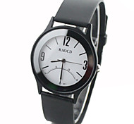 Unisex Watch Quartz Dress Watch Rubber Band Wrist watch Cool Watches Unique Watches