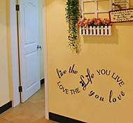 стены стикеры стены наклейки стиль жизни английских слов&цитирует наклейки ПВХ стены