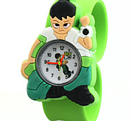 Children's Cute Cartoon Silicone  Lovely Digital Quartz Slap Watch