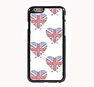 Union Jack Design  Aluminum Hard Case for iPhone 6