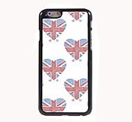 Union Jack-Design Aluminium-Hülle für das iPhone 6