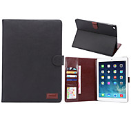 Crazy Horse Style PU Leather Case Card Slots & Wallet with Holder for iPad Air 2 (Assorted Colors)