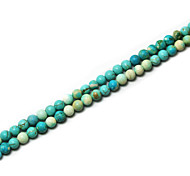 Beadia 39Cm/Str (Approx 98Pcs) Natural Turquoise Beads 4mm Round Stone Loose Beads DIY Accessories