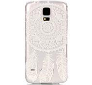 Campanula Pattern Transparent PC Material Phone Case for Samsung GALAXY S6 /S6 edge/S5/S3Mini/S4Mini/S5Mini