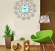 Fashionable Modern Creative  Diamond Iron Wall Clock