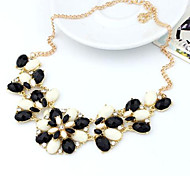 Cusa Bohemia Flower Pendant Necklace