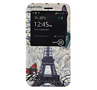 Tower Pattern PU Material Case for Nokia 640 XL