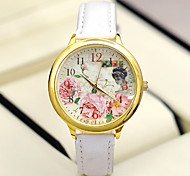 Fashion Women'S Watches Rose Flowers Analog Quartz Watches  (Assorted Colors)